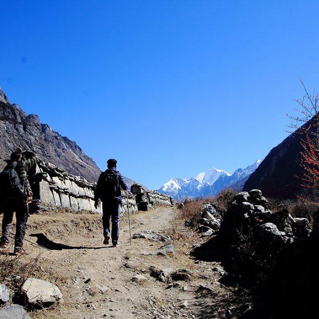 Langtang Valley Trek with Ganja La Pass