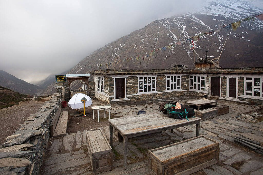 Accommodation, Meals, and Drinks While Trekking in Nepal in April