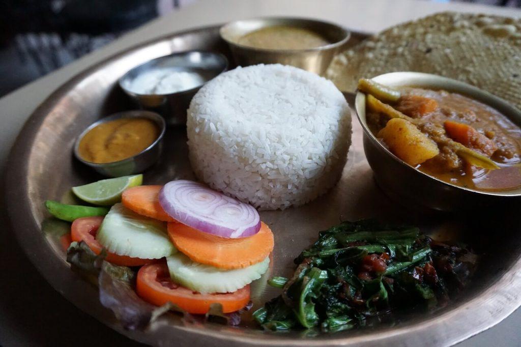 Nepali Meal