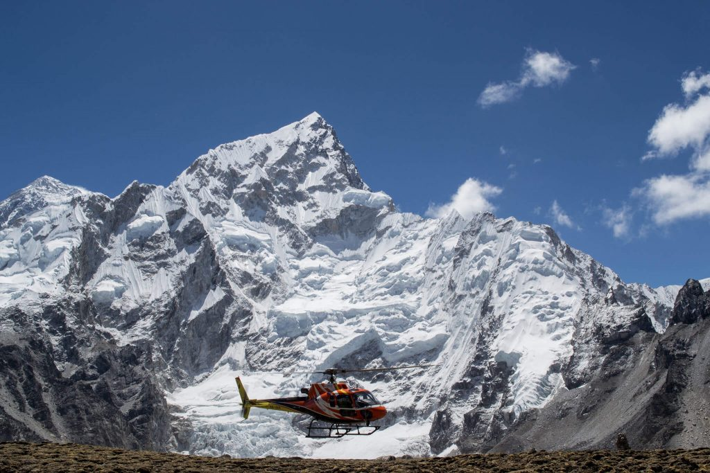 Everest Base Camp with Helicopter Return Trek