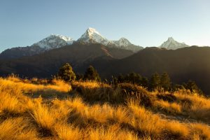 What is the weather while Trekking in Nepal in November