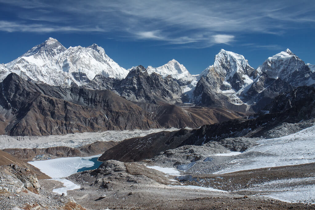 Open High Passes and Trekking Peaks